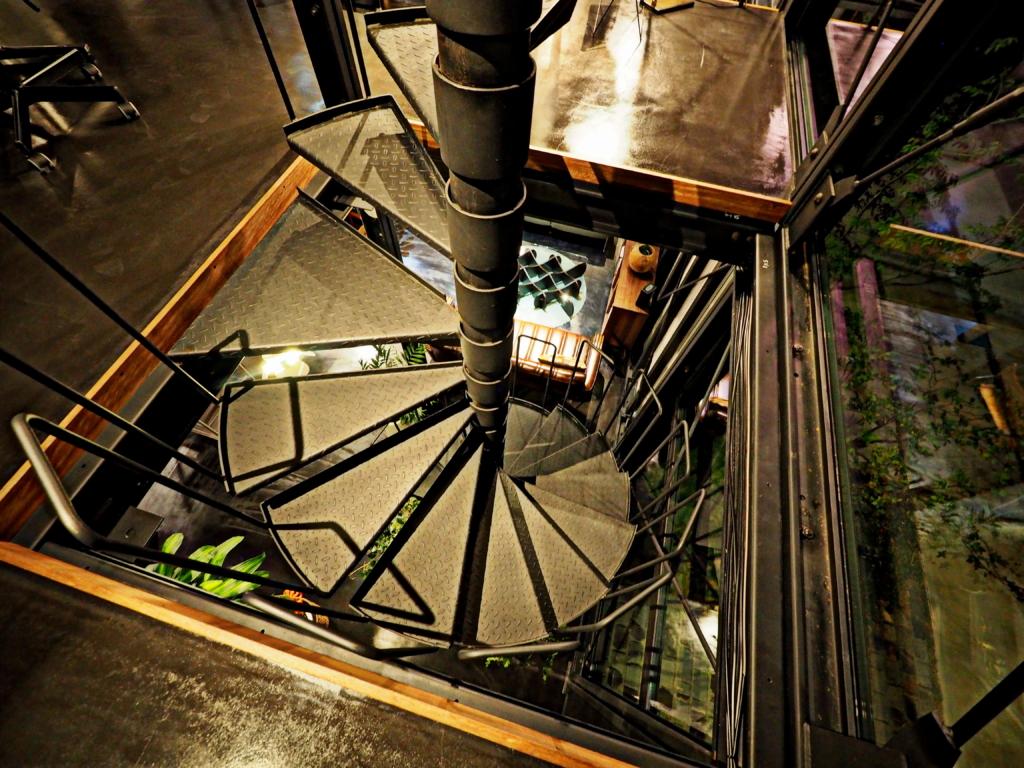 組み立て式 らせん階段